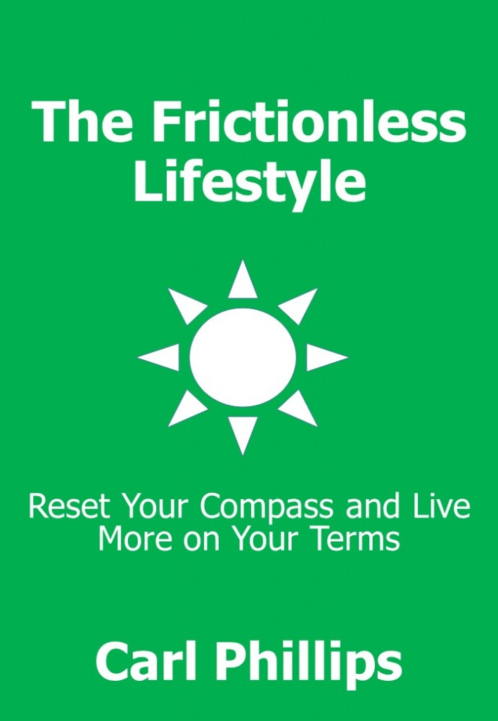 Frictionless Lifestyle Cover (Kindle)