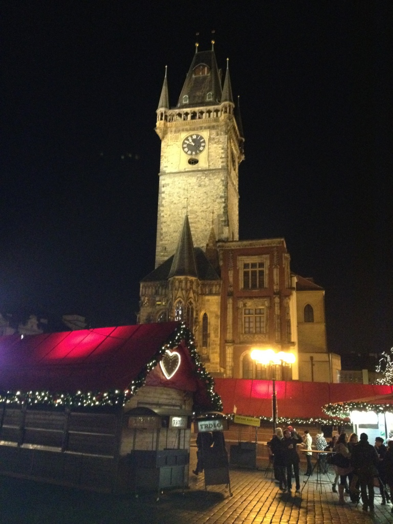 Stunning views and Xmas markets in Prague