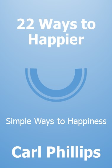 22 Ways to Happier Cover (Kindle)